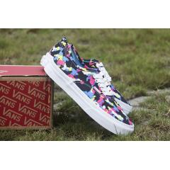 VANS Authentic 小藍迷彩