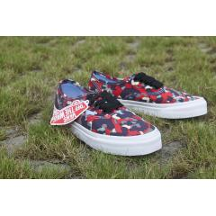 VANS Authentic 小紅迷彩