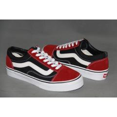 Vans Old Skool 紅黑